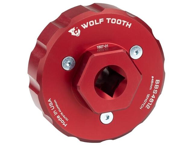 Wolf Tooth BBS4612 Herramienta Pedalier, red